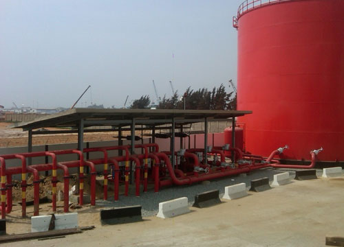 Design and Construction of Cotonou Depot