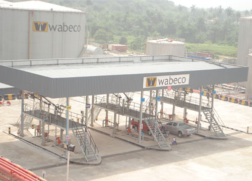 Construction of Wabeco Depot Calabar